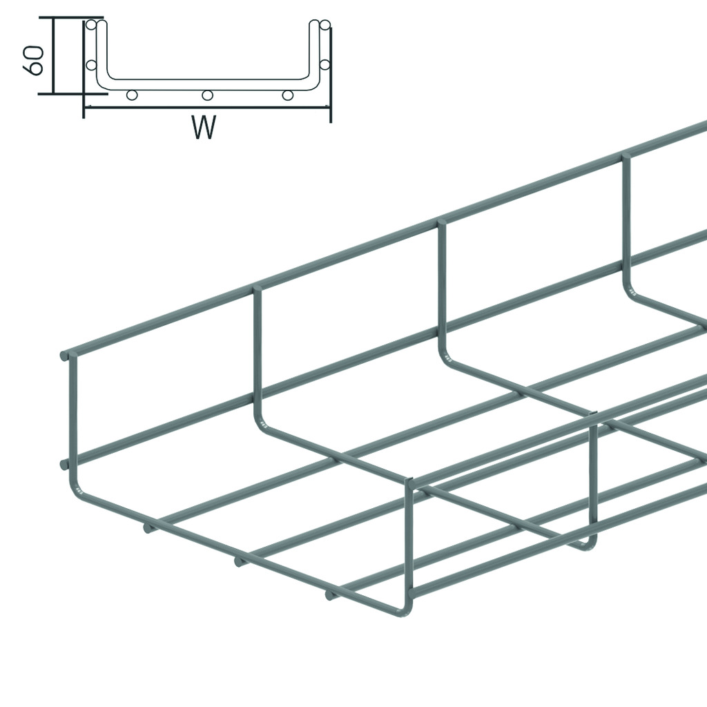 VFUL wire cable trays - Vergokan